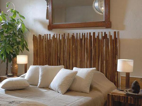 Powiew tropików – wezgłowie z bambusa
